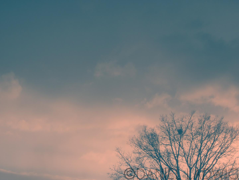 Farbiger Himmel