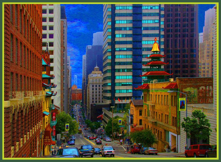 Farbiges San Francisco