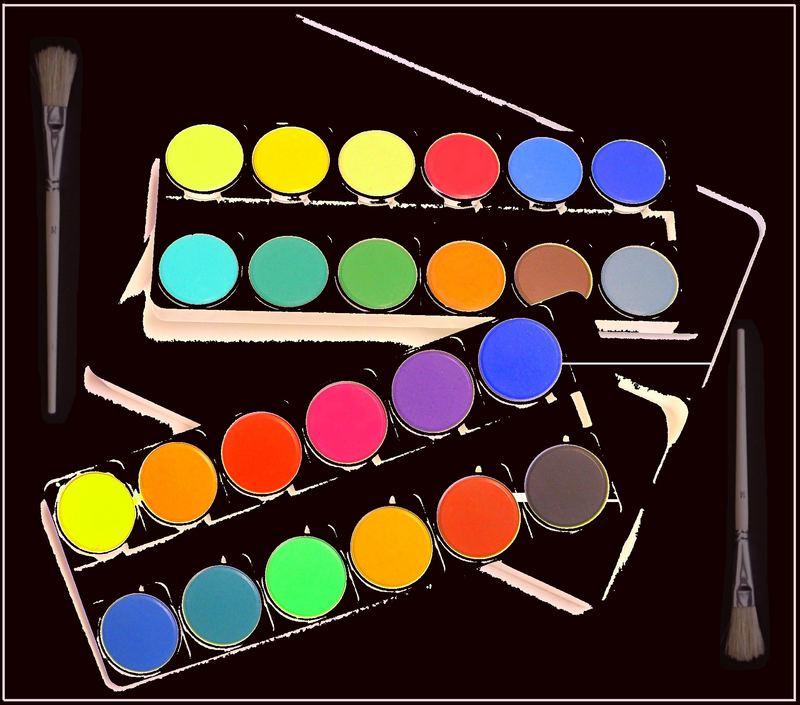 Farbkasten von Franziska