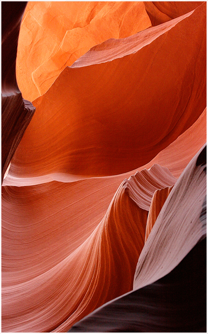 Farbrausch im Antelope Canyon