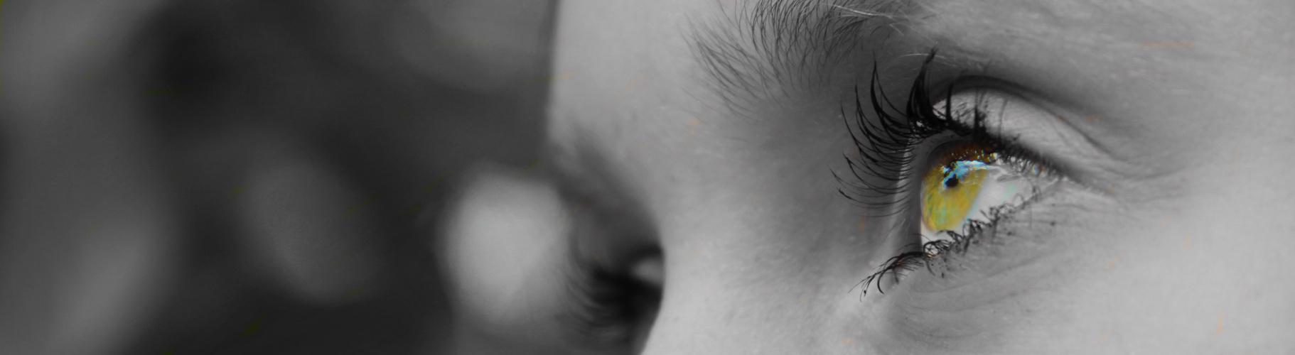 Farbriges Auge