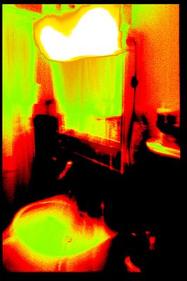 Farbschleier im Badezimmer