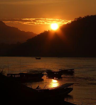 Farbspiel am Mekong