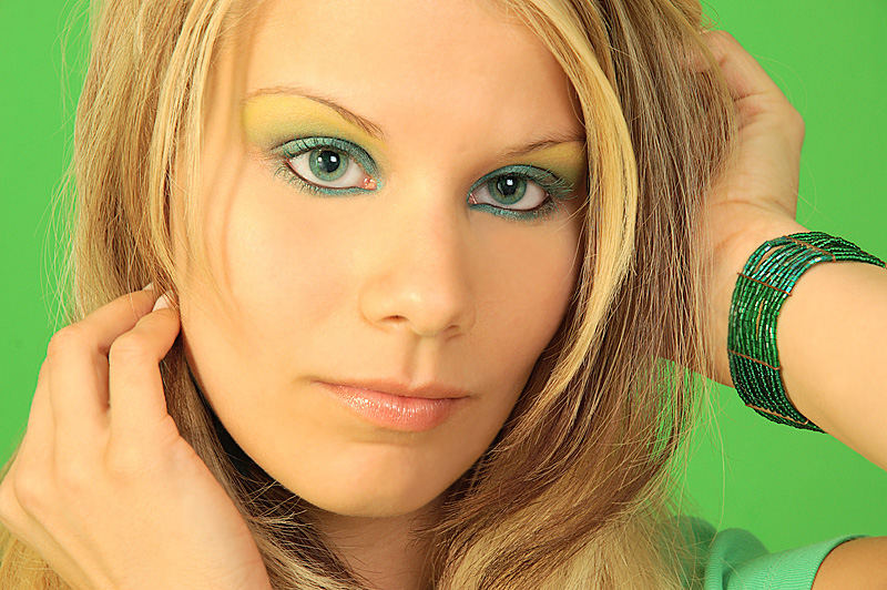 Farbspiel in grün