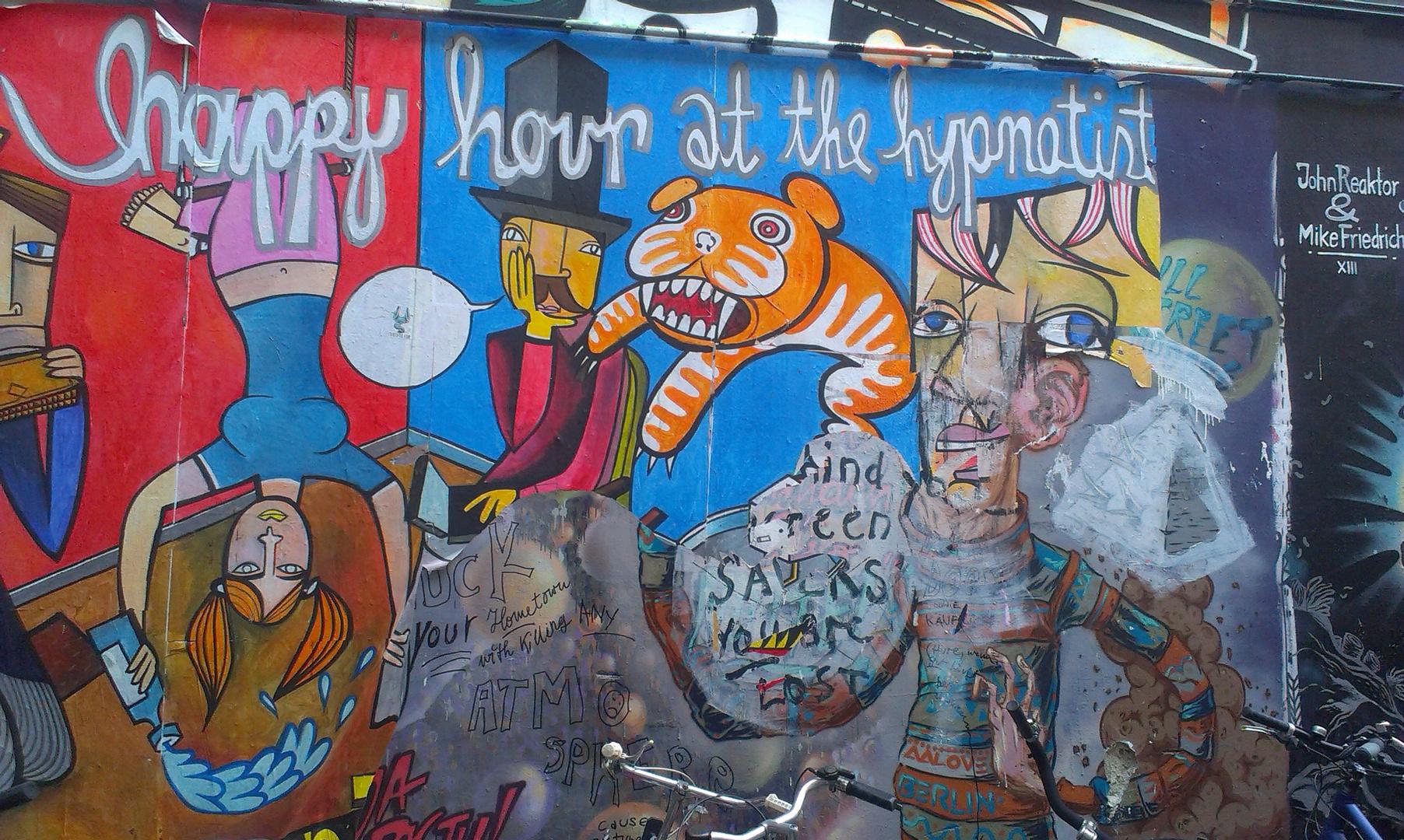 Farbstark in Berlin