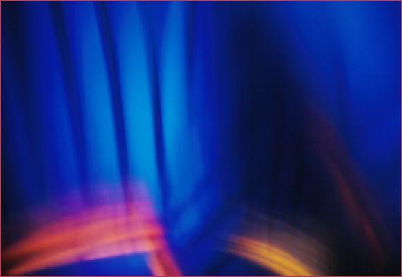 Farb(T)raum: Blau-Rot-Orange-Gelb