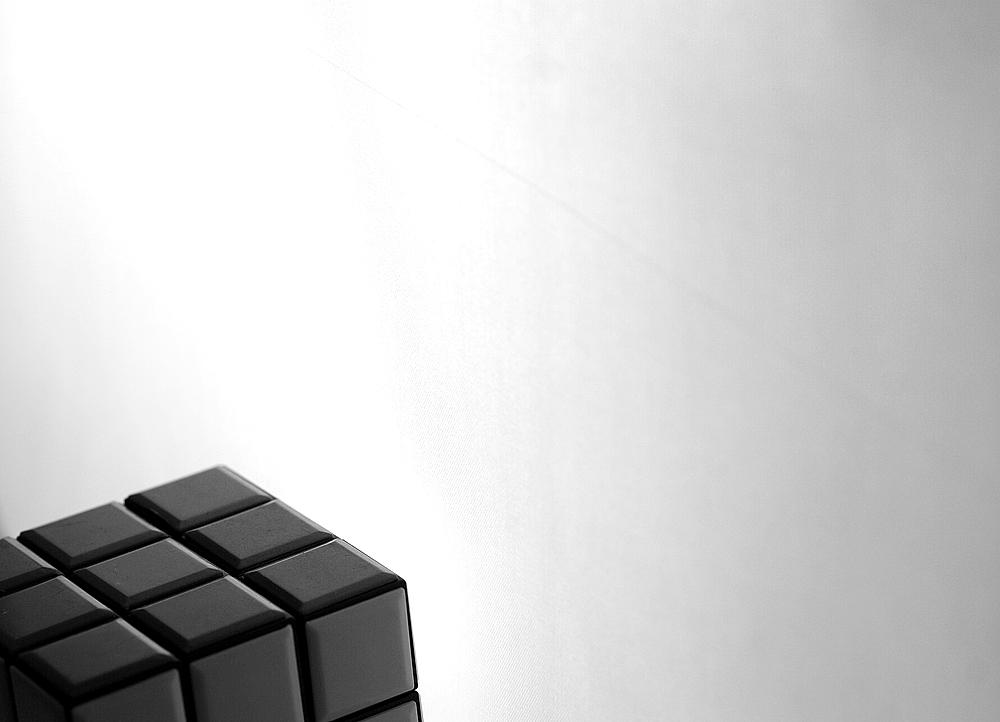 Farbwürfel schwarz -weiß