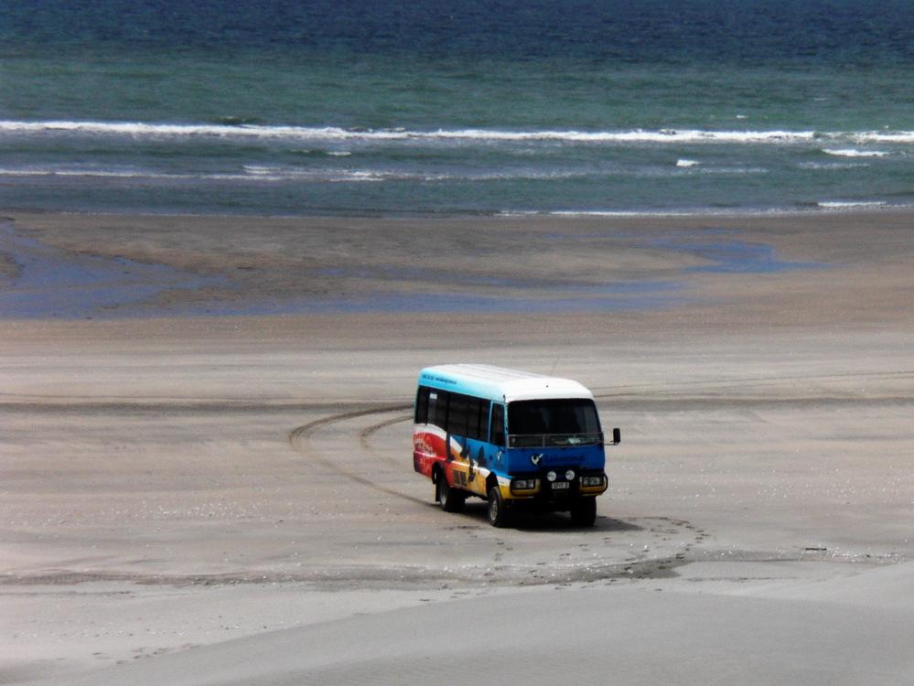 Farewell Spit Tourbus