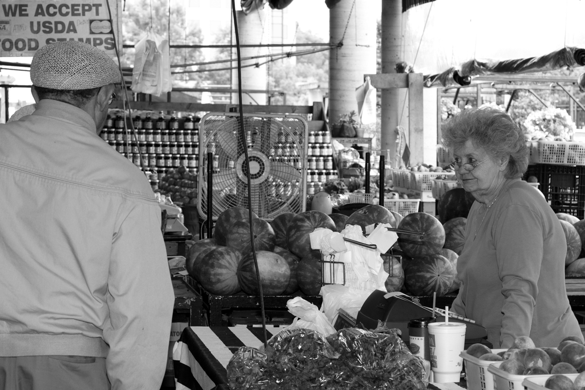 Farmer's market in Nashville