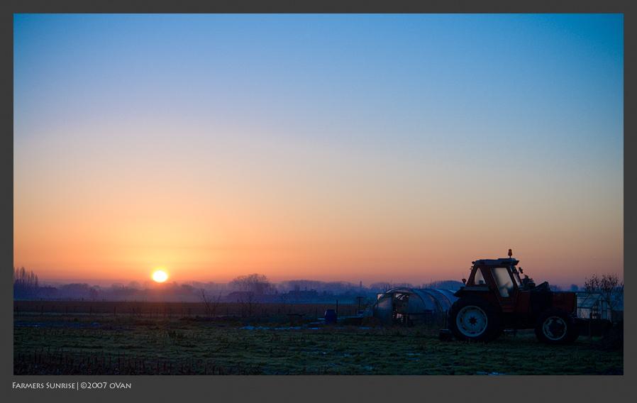 Farmers Sunrise