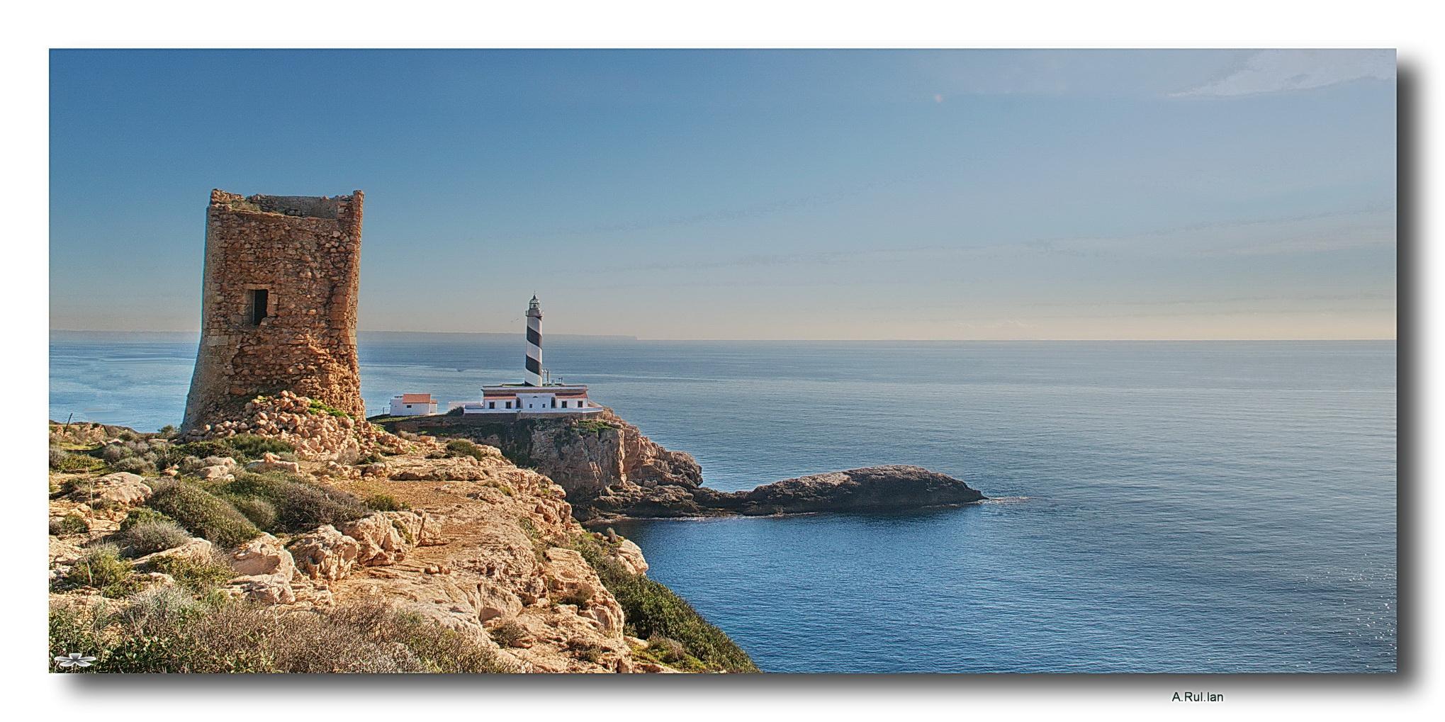 """""""Faro de Cala Fiquera """""""