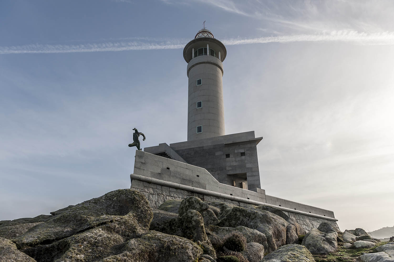 Faro Punt aNariag 8Malpica - A Coruña)