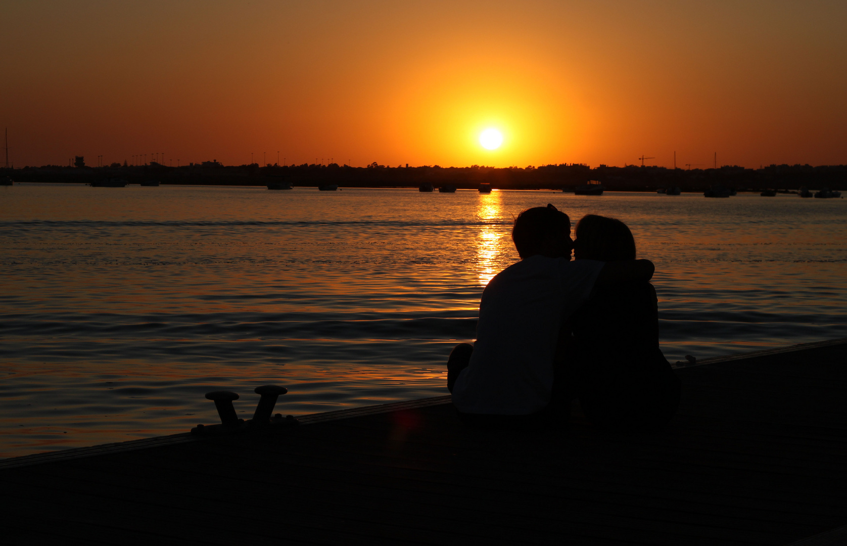Faro - Sonnenuntergang