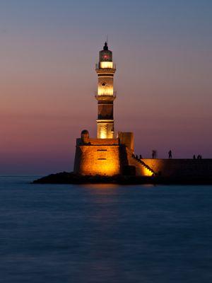 """""""Faros"""" Leuchtturm von Chania"""