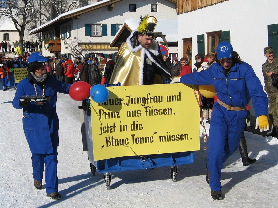 Faschingsumzug Schwangau 10.02.2013 #1