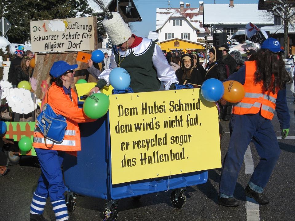 Faschingsumzug Schwangau 10.02.2013 #2