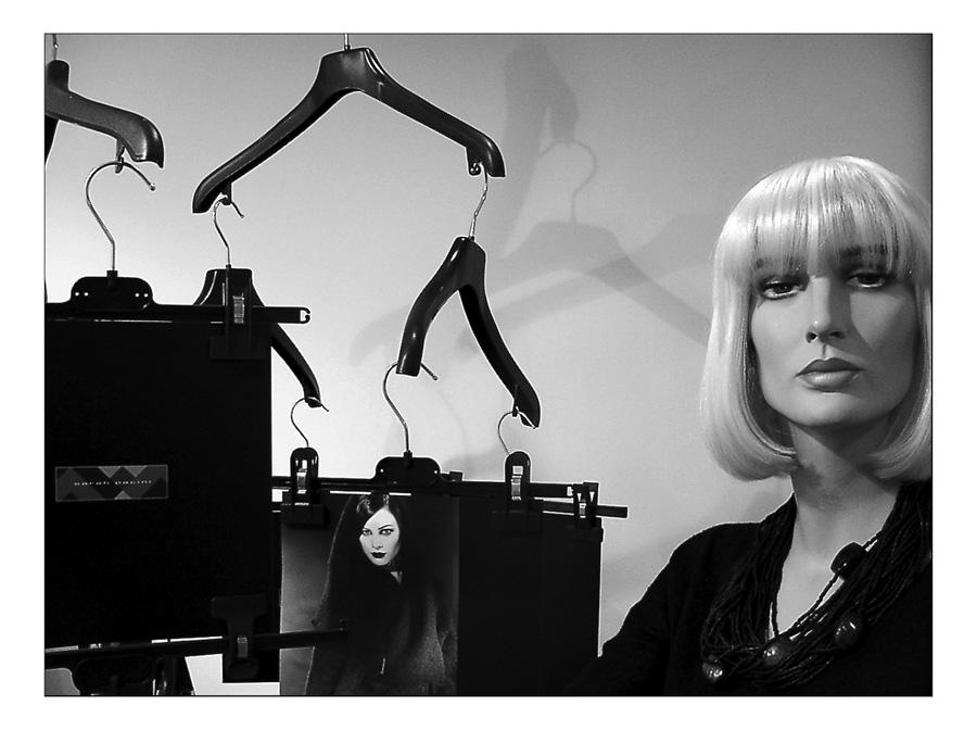 fashion hangers...