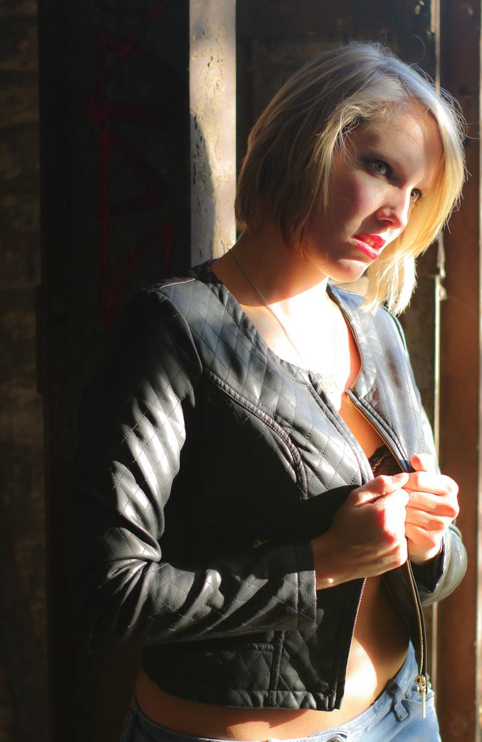 Fashion mit Licht und Schatten