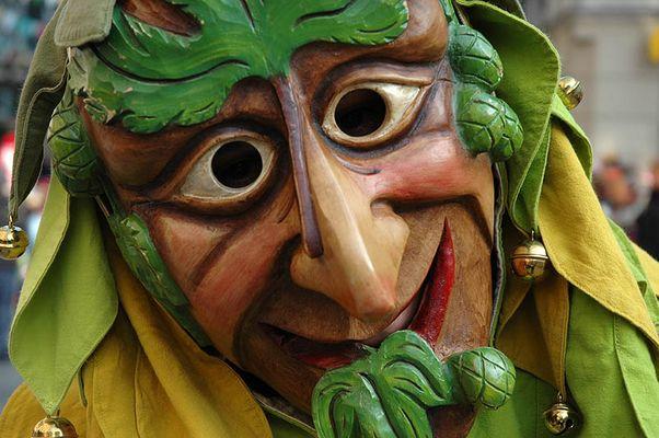Fasnet-Gesicht