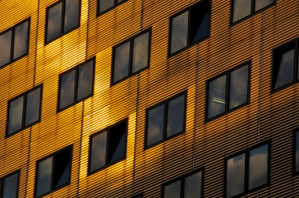 Fassade am Potsdamer Platz 1