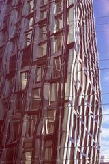 Fassade auf Fassade