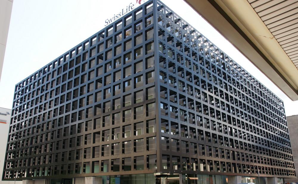 Fassade Architektur fassade aus stahl foto bild architektur motive bilder auf