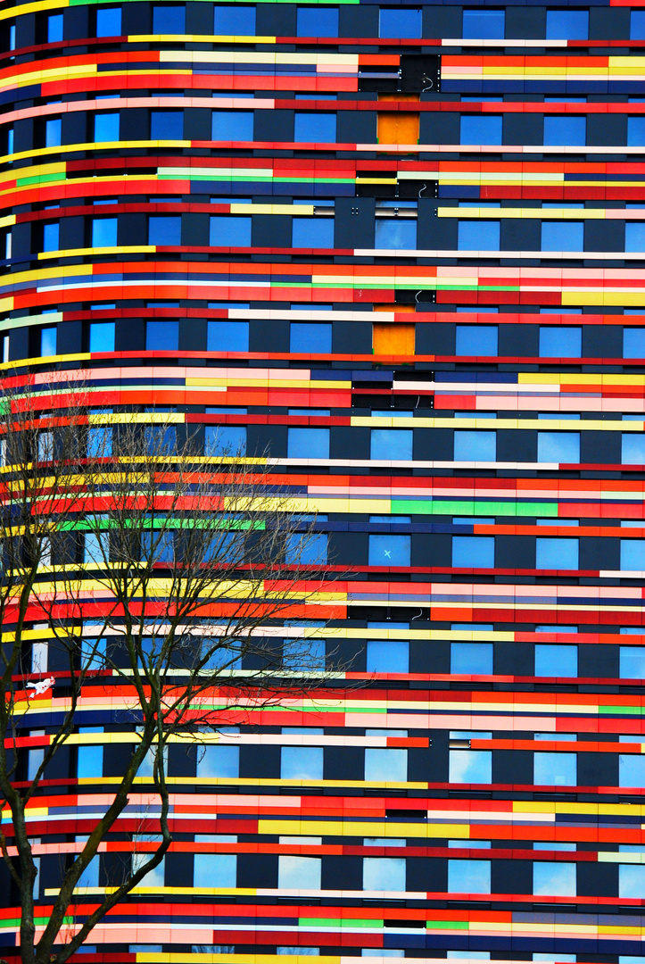 Fassade der Behörde für Stadtentwicklung und Umwelt in Hamburg