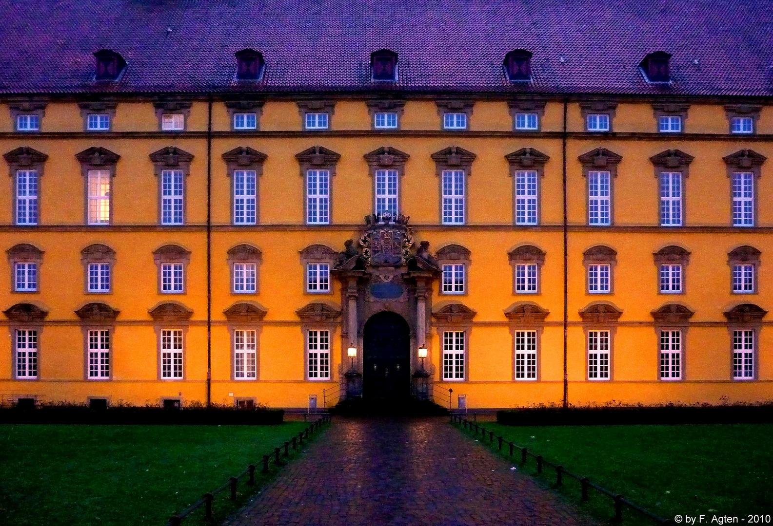 Fassade des Schlosses in Osnabrück