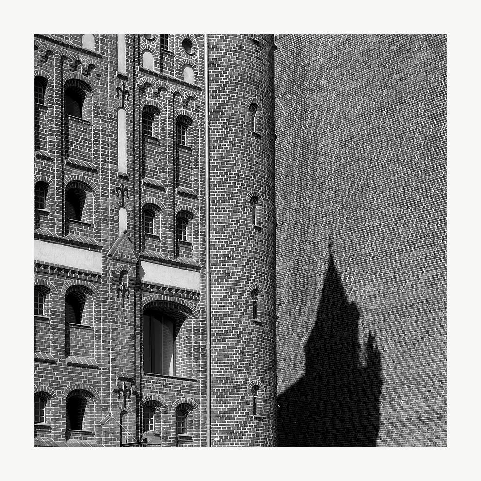 Fassade im Seitenlicht