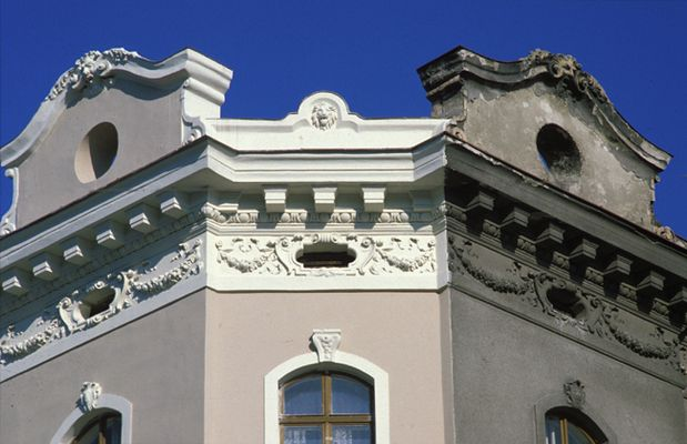 Fassade im Wandel der Zeit