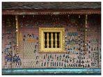 Fassade im Wat Xieng Thong - Luang Prabang, Laos