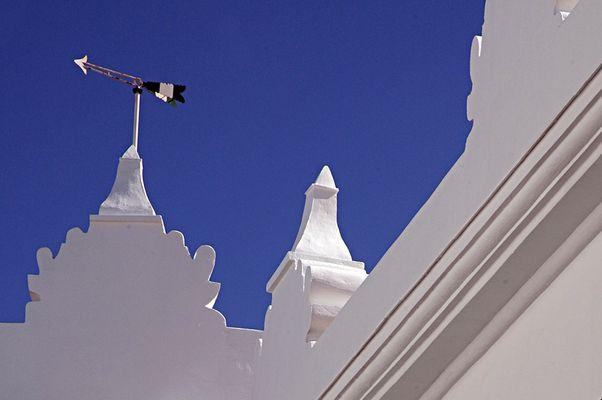Fassade in Andalusien...