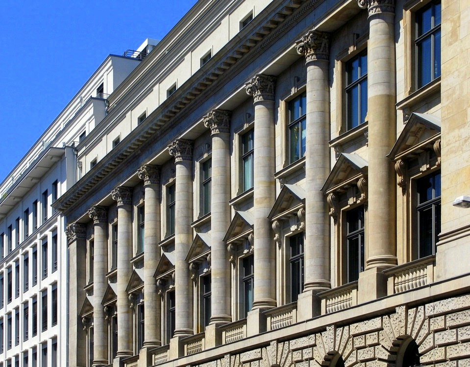 Fassade in der Französischen Strasse