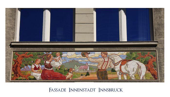Fassade in Innsbruck