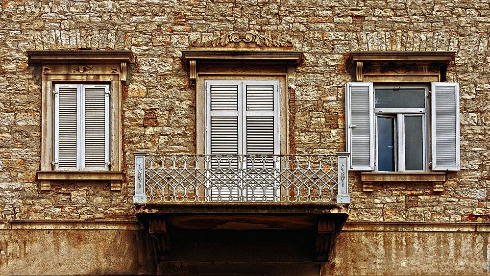 Fassade in Pula