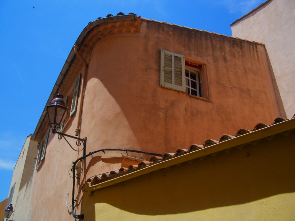 Fassade in Saint Tropez