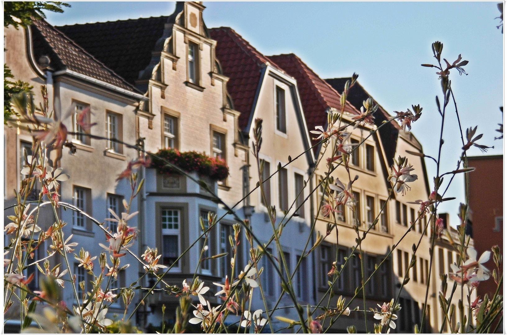 Fassaden am Warendorfer Marktplatz