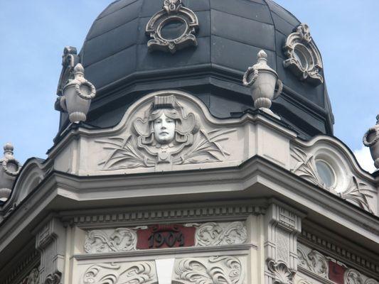 Fassaden in Riga
