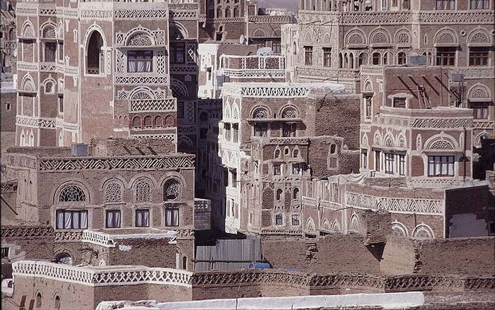Fassaden in Sana'a