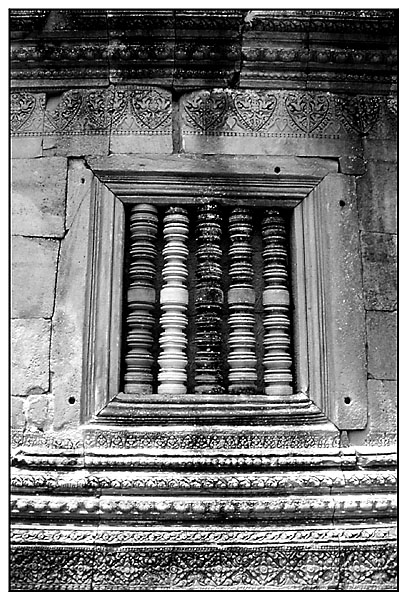 Fassadendetail - Prasat Hin Phanom Rung, Isaan