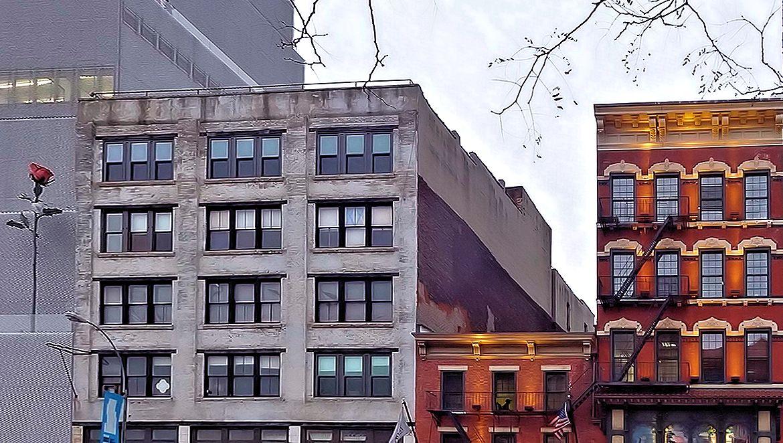 fassadenkonkurrenz neben dem 'new museum' an der bowery new york