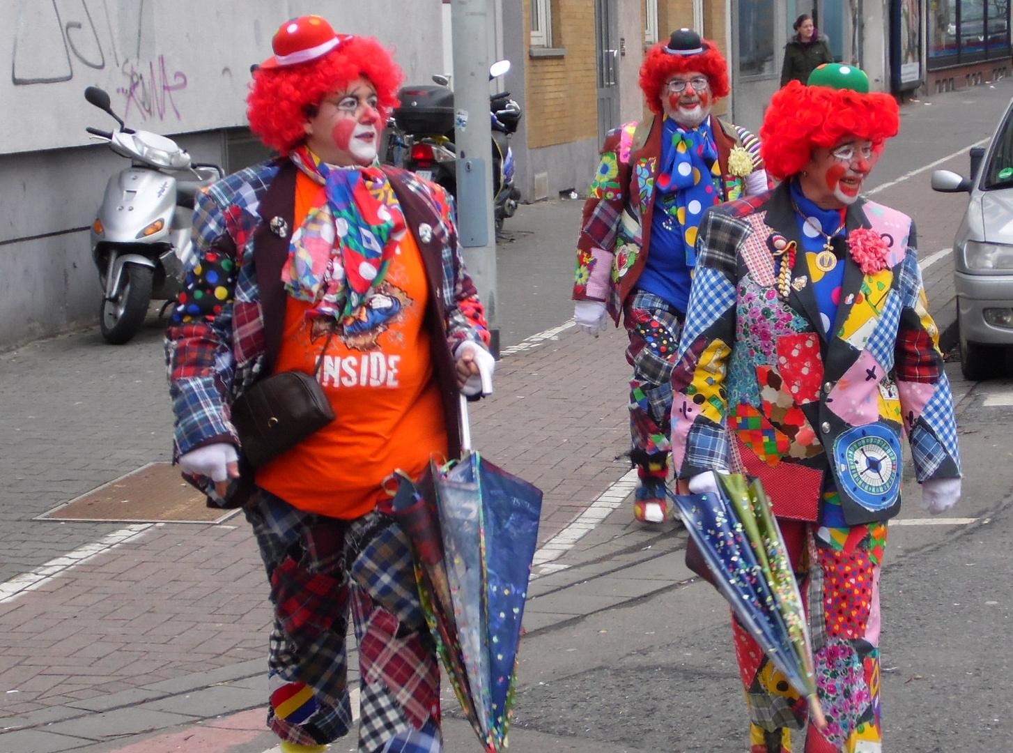 Fassenacht 2013 - Clowns