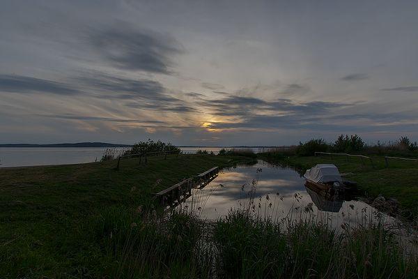 Fast dunkel war´s am Kummerower See