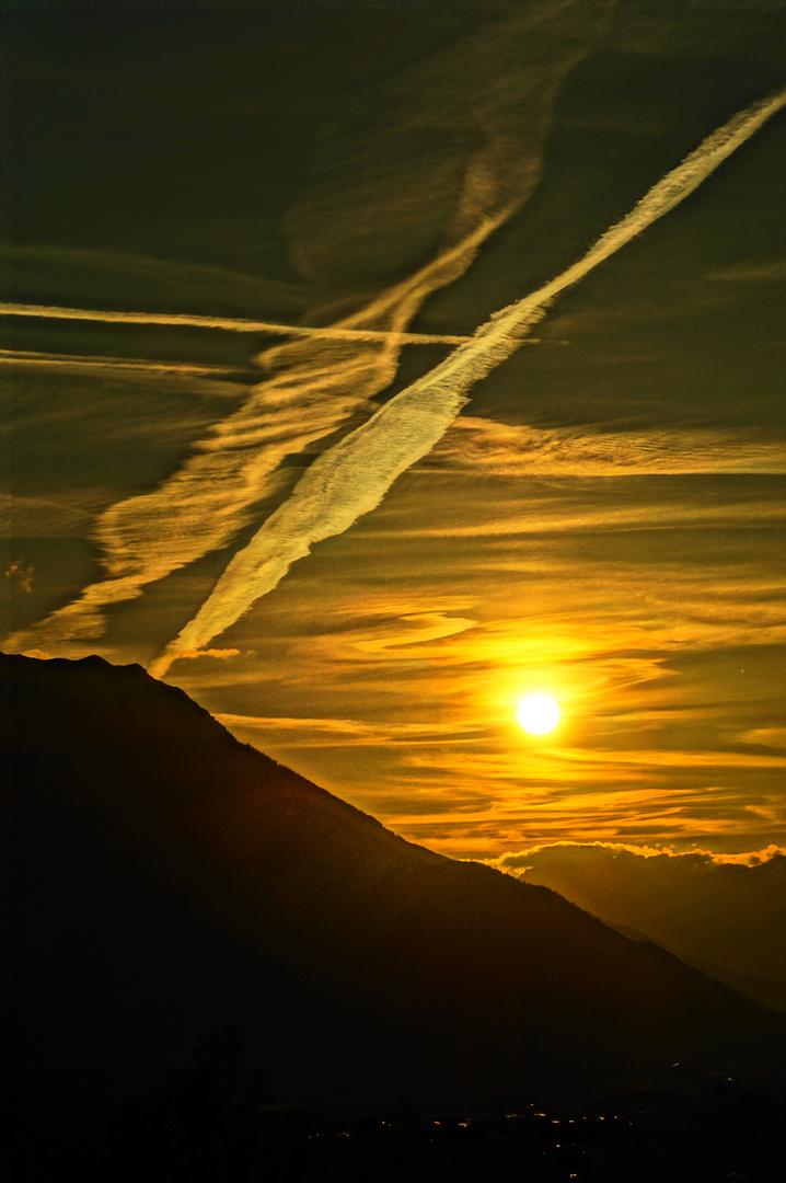 fast ein gemalter Sonnenuntergang