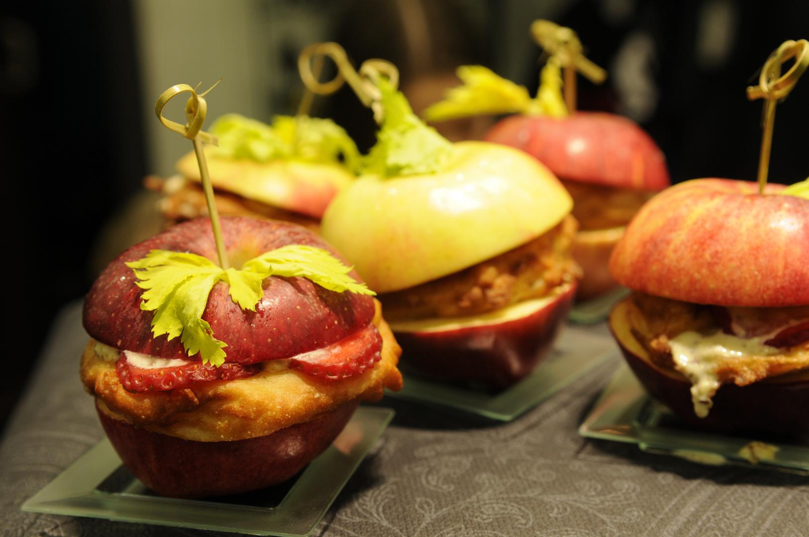 Fast Food Apfel