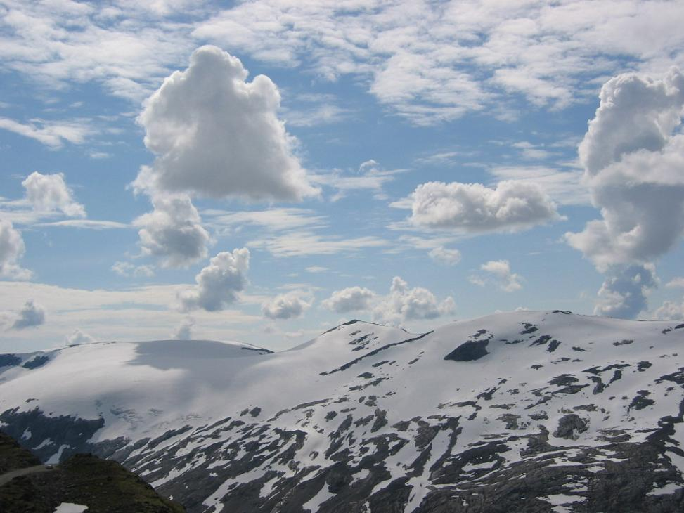 (fast) Über den Wolken...