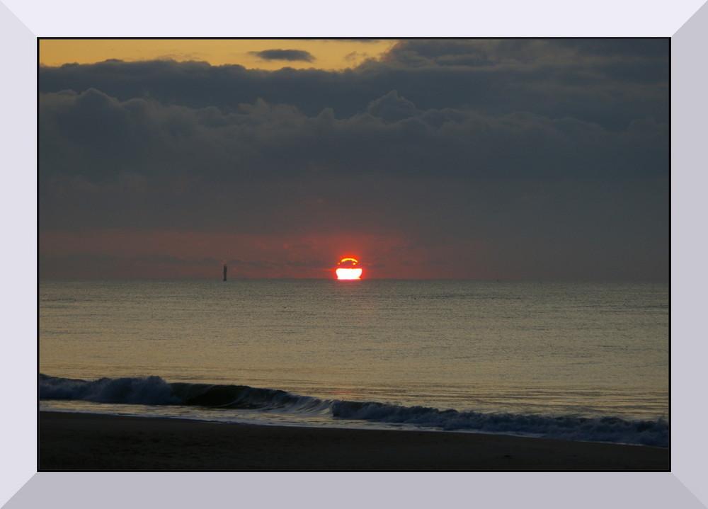Fast verpasster Sonnenuntergang
