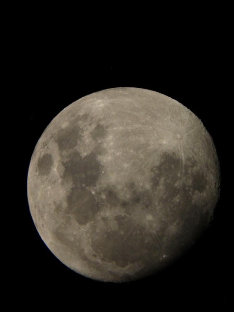 Fast voll... der Mond!