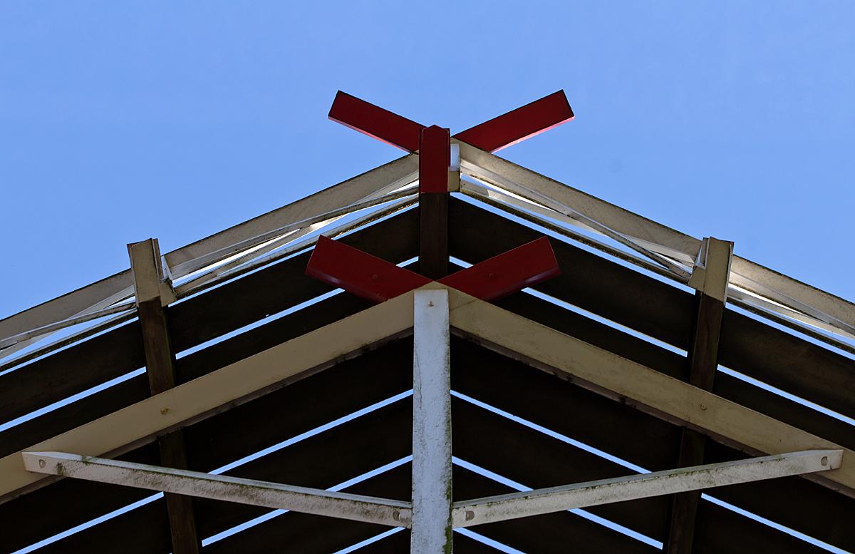 Fast wie ein Dach Mühlendetail 3