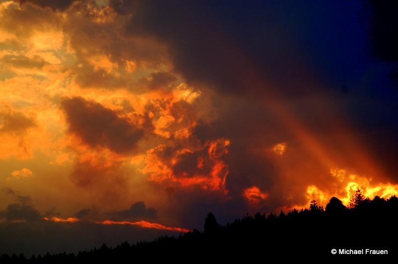 Faszienierende Wolken
